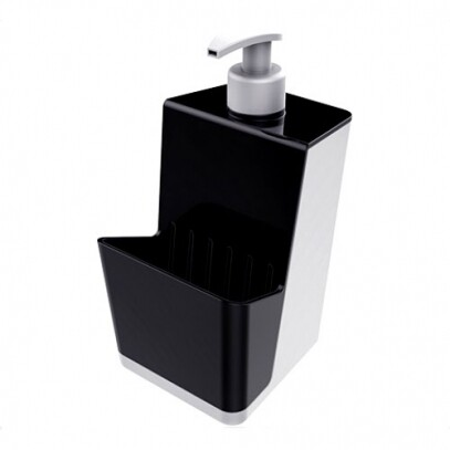 Dispenser Smart Branco com Preto 500ml