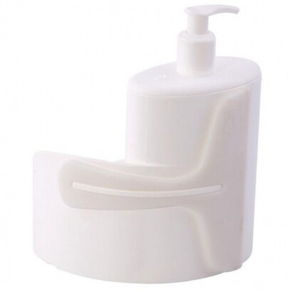Dispenser Abraço 600ml Branco Coza 19,7x8,5x16,6cm