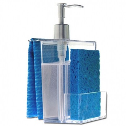 Dispenser Multi Cristal 600ml Coza 12x10,6x20,8cm